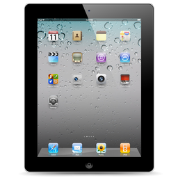 Black Apple iPad 2